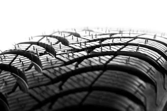 New Car Tire Tread